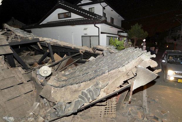 عکس ژاپن عکس زلزله اخبار ژاپن