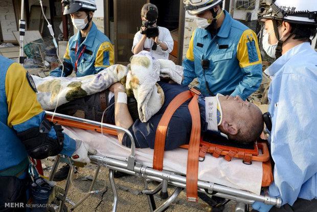 وقوع زلزله در ژاپن