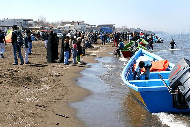 تعطیلی ۳ شناگاه به دلیل آلودگی در سواحل مازندران