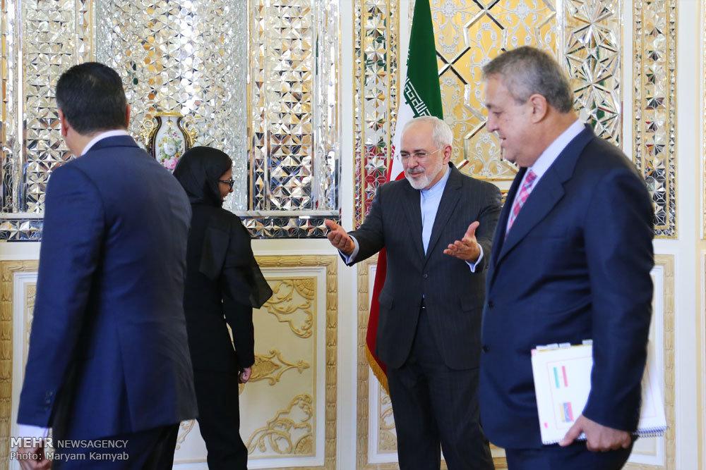 دیدار وزاری امور خارجه ایران و ونزوئلا