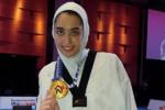 یک دستگاه آپارتمان هدیه استاندار البرز به کیمیا علیزاده
