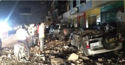 مقتل العشرات في زلزال مدمر  ضرب الإكوادور