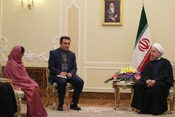 روحاني : ايران مصدر مطمئن لضمان أمن طاقة اقتصاد الهند المتنامي