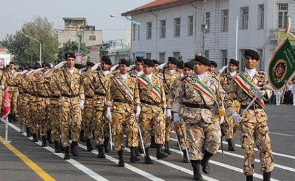 رژه ارتش در رشت