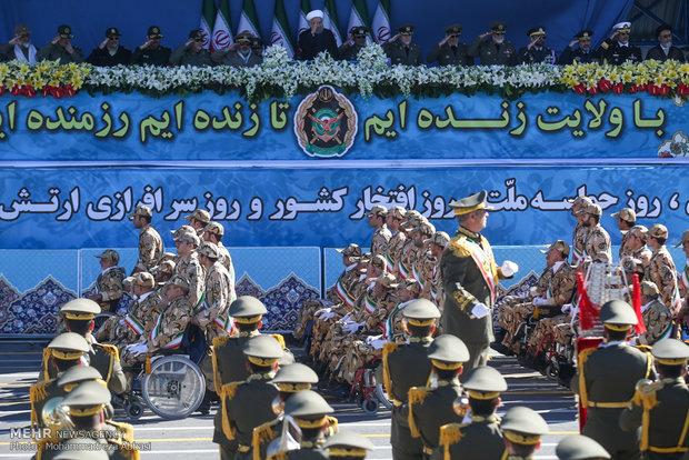 مراسم روز ارتش جمهوری اسلامی ایران