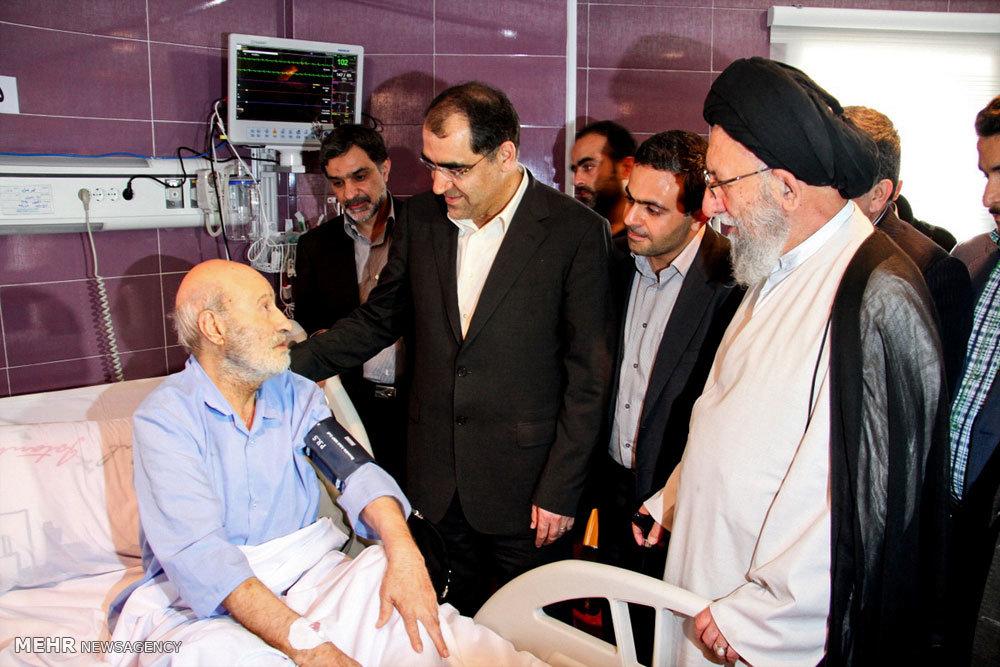 افتتاح بخش فوق تخصص جراحی قلب بیمارستان صیاد شیرازی گرگان