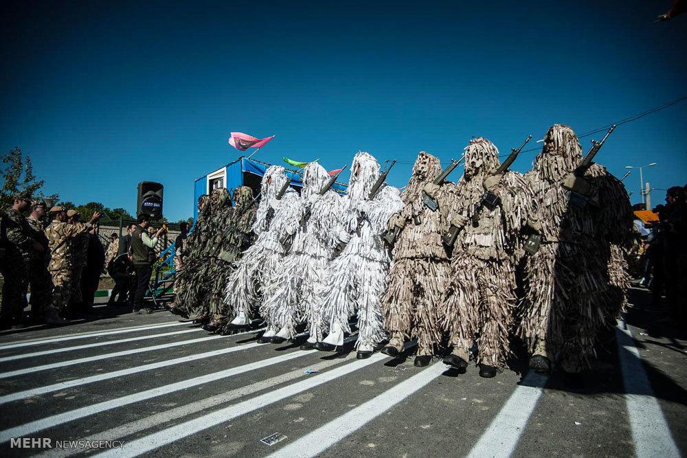 مراسم رژه روز ارتش جمهوری اسلامی در کرج