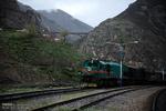 سوت قطار در سکون دشت های سبز و جنگل های هیرکانی