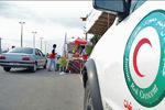نجات زائر بدحال در مراسم عرفه صحن حضرت عباس(ع)/اعزام ۲زائر بدحال