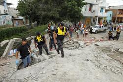 ایکواڈور میں شدید زلزلہ میں 262 افراد ہلاک