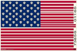 Gerçek Amerika Bayrağı/ Karikatür
