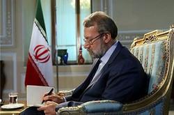 لاريجاني يهنئ الرئيس السوري بمناسبة اقامة الانتخابات البرلمانية
