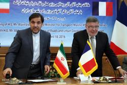 İran Yol ve Şehircilik Bakanı ile Fransa Taşımacılık Bakanı'nın Görüşmesi