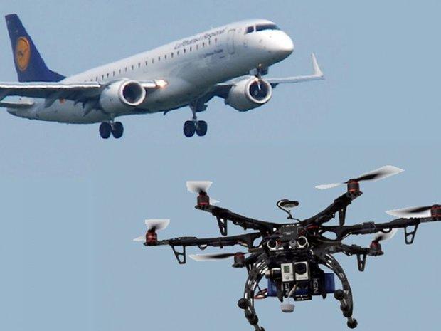 برطانیہ میں مسافر طیارے سے ڈرون ٹکرا گیا