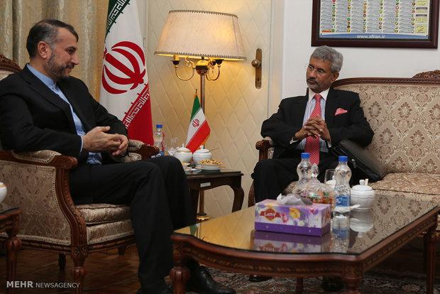 دیدار معاون وزیر امور خارجه هندوستان با معاون عربی و آفریقای وزارت امور خارجه