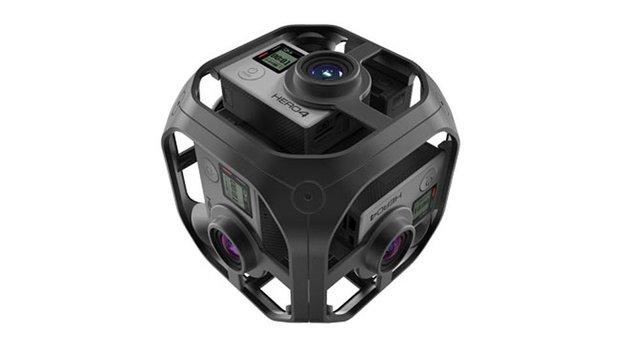 کمپانی آمریکایی GoPro از یک دوربین مجهز به واقعیت مجازی پرده برداری کرد
