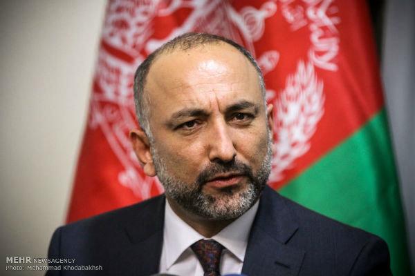 مشاور امنیت ملی افغانستان حادثه سقوط هواپیمای ایران را تسلیت گفت