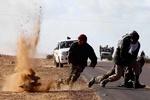 داعشی ها از شهر «البوکمال» می گریزند
