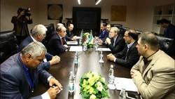 Larijani meets Kazakh, Tajik counterparts in Moscow
