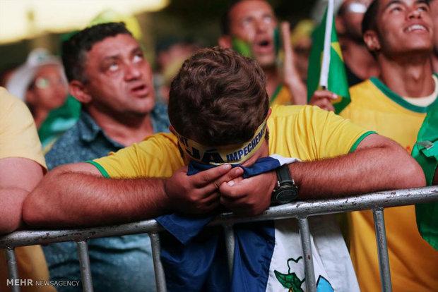 رای مجلس برزیل به استیضاح رئیس جمهور