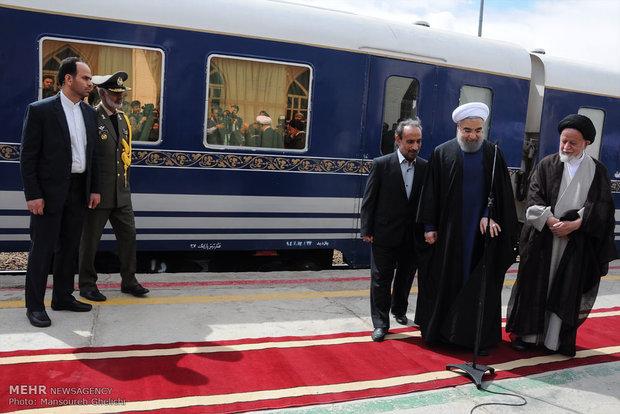 سفر رئیس جمهور به سمنان