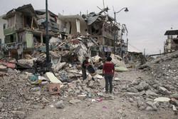 ایکواڈور میں شدید زلزلہ کے نتیجے میں تباہی