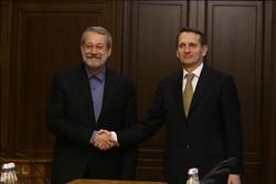 Iran, Russia parliament heads stress expansion of strategic ties