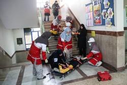 آمادگی دانش آموزان امدادگر در تربت حیدریه توان سنجی شد