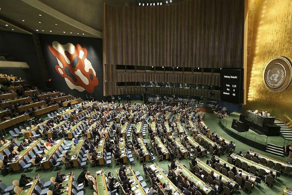 UN-ECO coop. resolution adopted
