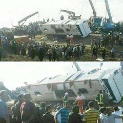 سقوط اتوبوس حامل دانش آموزان زائر ۲ کشته و ۴۳ مصدوم بر جای گذاشت