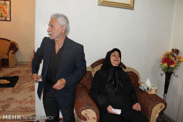 گزارش تصویری از مراسم تشییع پیکر مهرداد اولادی