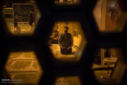 مراسم الاعتكاف المعنوية في مساجد طهران