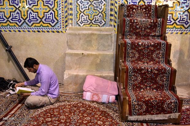 مراسم الاعتكاف في جامع وكيل بمدينة شيراز