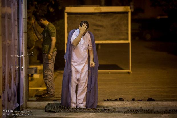 مراسم اعتكاف المعنوية في جامعة طهران