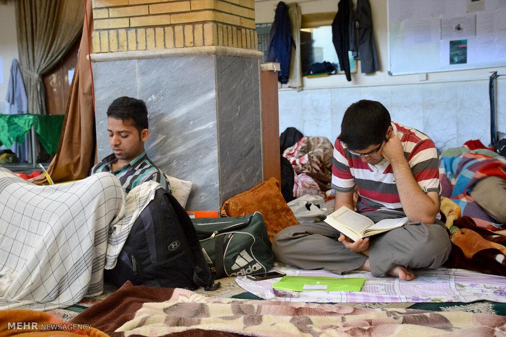 مراسم اعتکاف در دانشگاه سیستان و بلوچستان