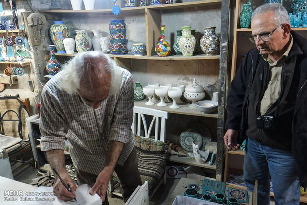 Traditional pottery workshop