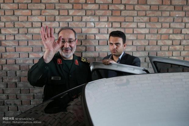 حضور سردار جزایری در خبرگزاری مهر