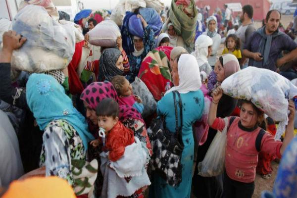 ۱۰۰۰ پەنابەری کوردی سووریا هاتوونەتە هەرێمی کوردستان