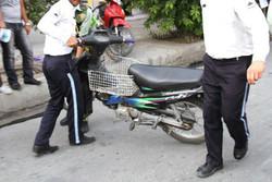 ترخیص موتورسیکلت های توقیفی بالای چهار ماه در هرمزگان