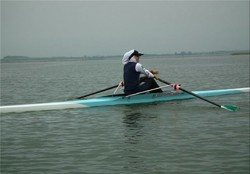 Female Olympian bags silver at rowing qualifiers