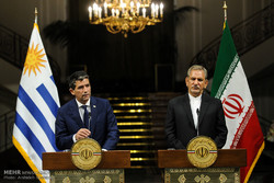 مراسم استقبال رسمی از معاون رئیس جمهور اروگوئه شرقی
