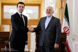 دیدار وزرای امور خارجه ایران و مقدونیه