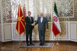 İran ve Makedonya Dışişleri bakanları görüştü