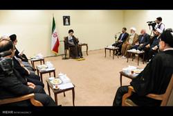دیدار اعضای شورایعالی «مرکز الگوی اسلامی ایرانی پیشرفت» با رهبر انقلاب
