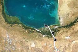 کراپشده - انتقال آب دریای خزر