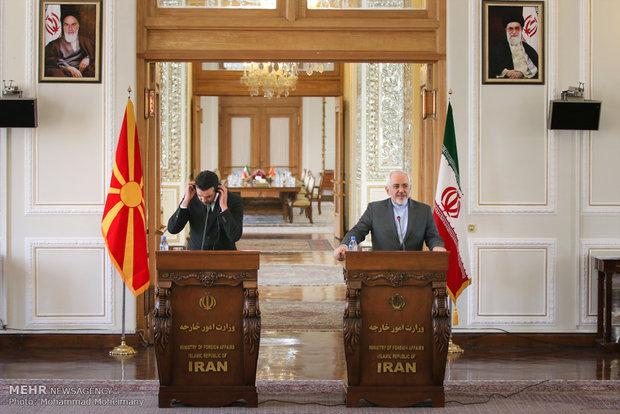 Iran, Macedonia FMs meet in Tehran