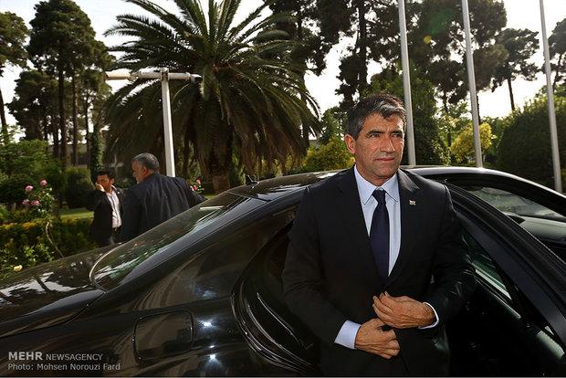 دیدار معاون رییس جمهور اروگوئه با رییس مجلس شورای اسلامی