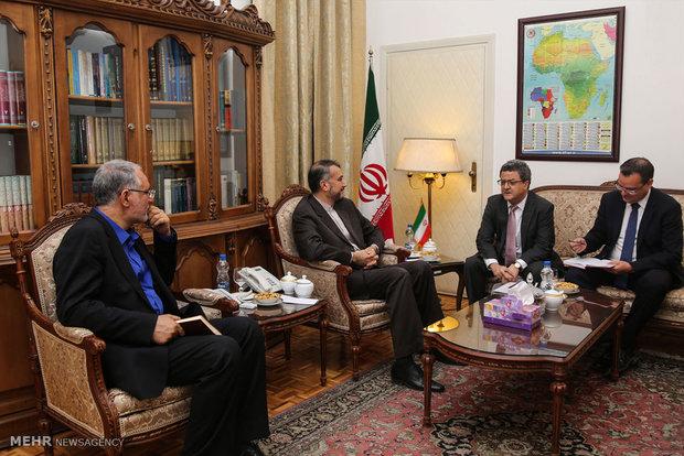 دیدار قائم مقام وزیرخارجه سوئیس و معاون عربی و آفریقای وزارت امور خارجه