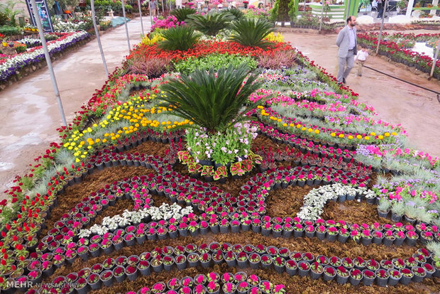 Mahallat Flora Fair opens