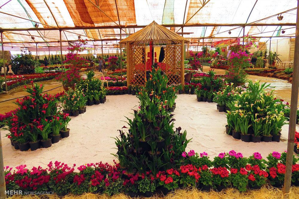 مراسم افتتاح چهاردهمین نمایشگاه گل محلات